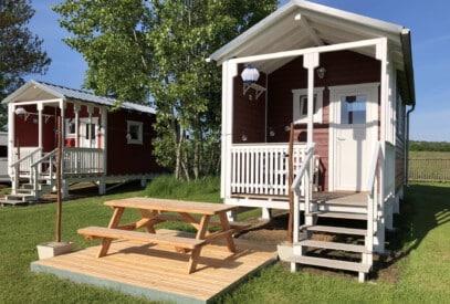 Ferienhütte OSKAR ist klein aber fein.