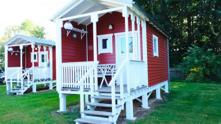 Ferienhütte Emil - Camping Drei Gleichen