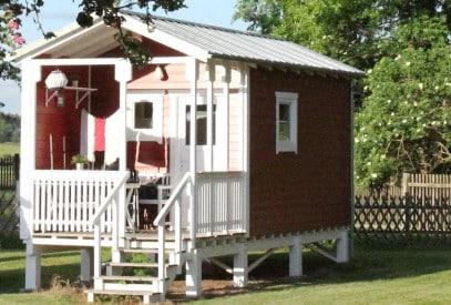 Ferienhaus oder Ferienhütte. Ronja ist gemütlich.