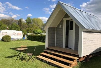 Die Campinghütte Tommy ist gut isoliert und hochwertig verarbeitet