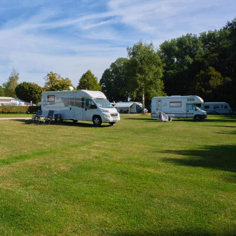 Camping Drei Gleichen in Thüringen