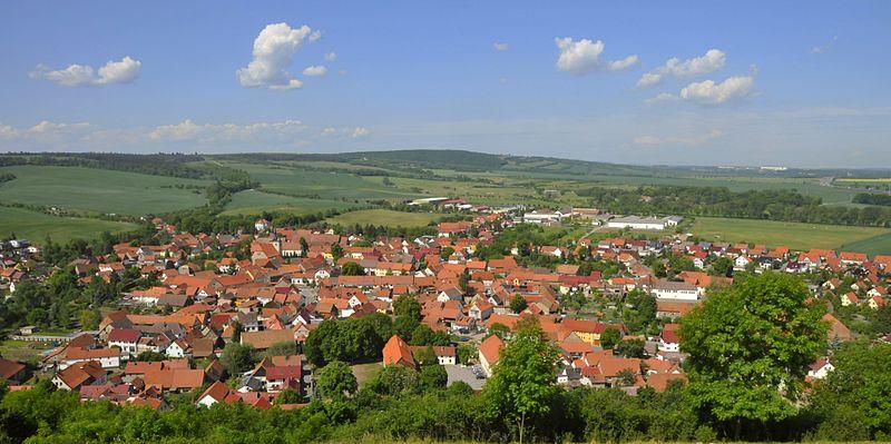 Mühlberg Ortsansicht