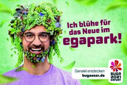 Bundesgartenschau Erfurt 2021 Thüringen