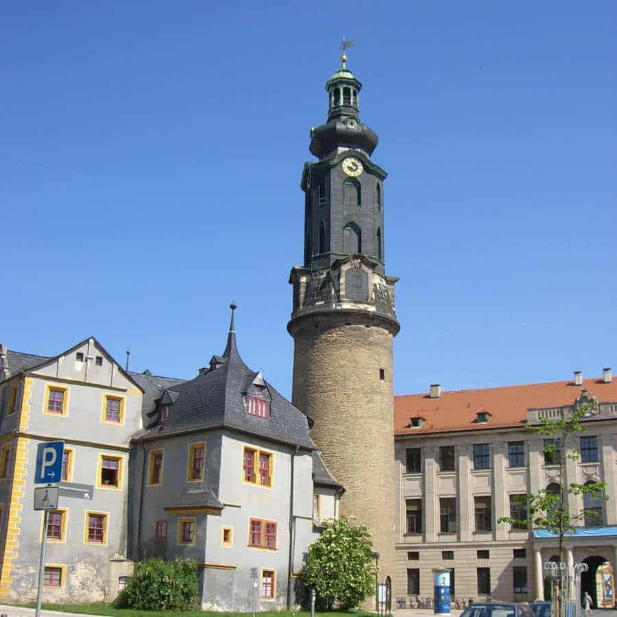 Der Stadtturm in Weimar