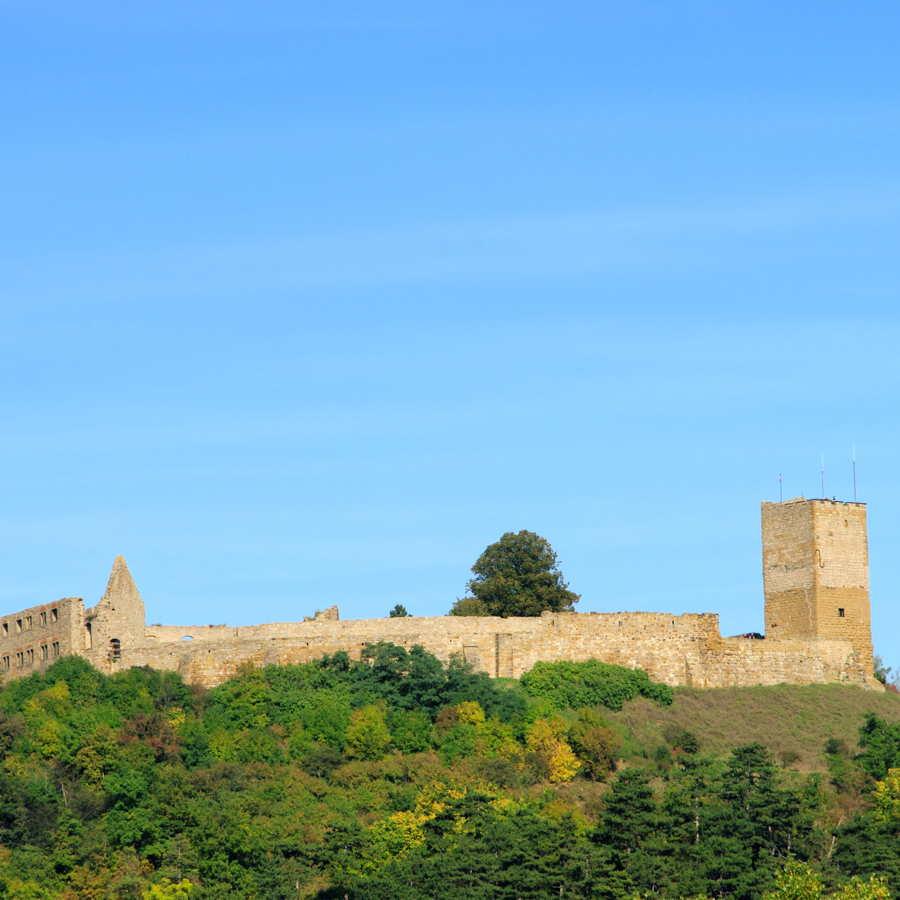Ruine der Burg Gleichen