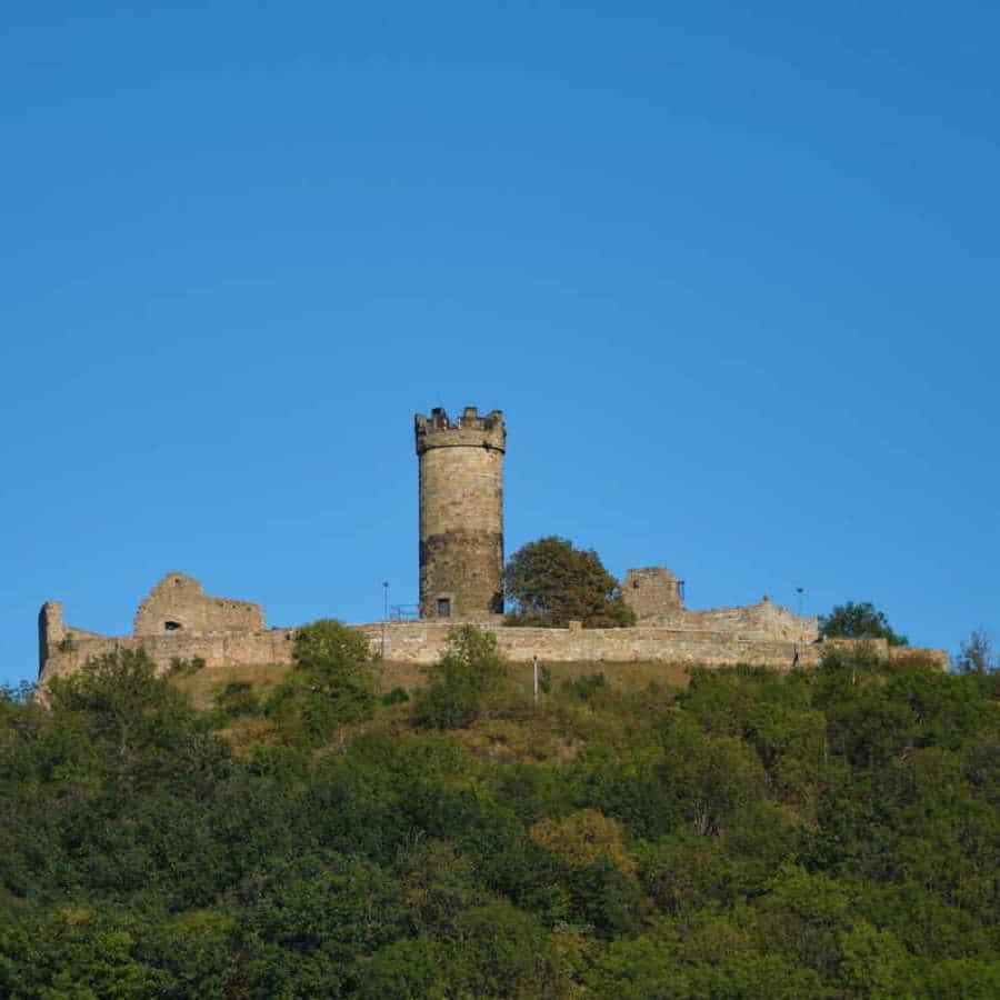 Die Mühlburg in Thüringen